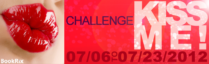 Kiss Me Challenge writing contest banner