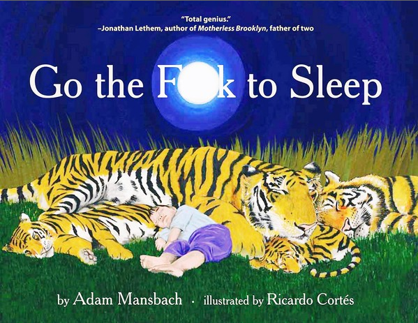 "Top selling book ""Go the F--k to Sleep"" by Adam Mansbach"