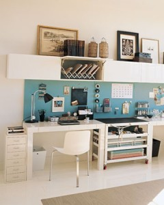 A clean workspace does wonders for your brain!