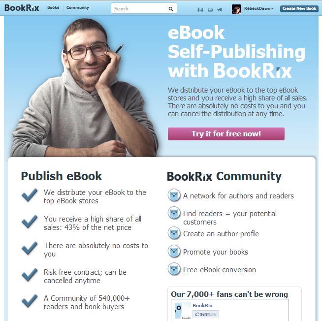 The BookRix community
