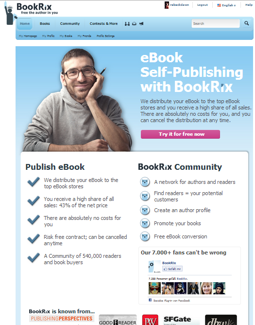 The BookRix community