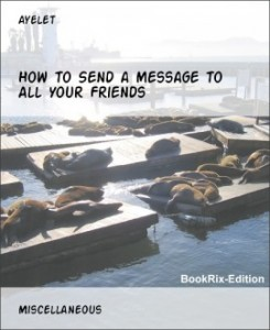 How to Send Messages to All Your Friends on BookRix